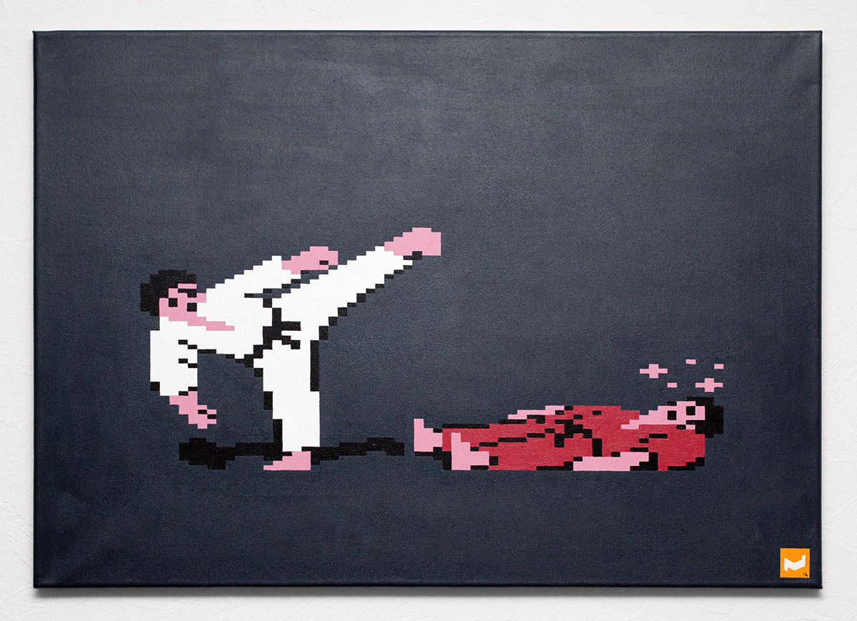International Karate, 70x50cm