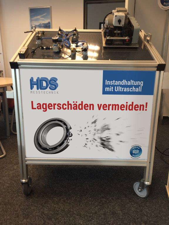 HDS Messtechnik, Messtestand