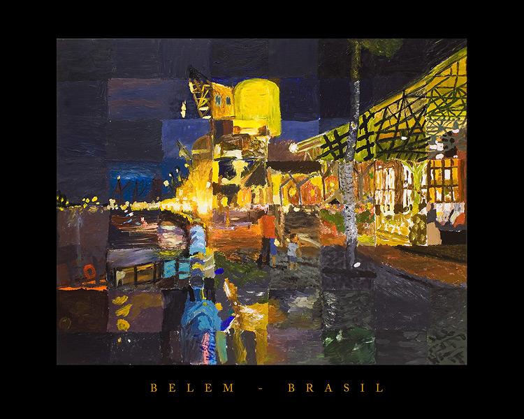 Belém, Brasilien, 150x120cm - Gemeinschaftsarbeit der Familie Schmetz
