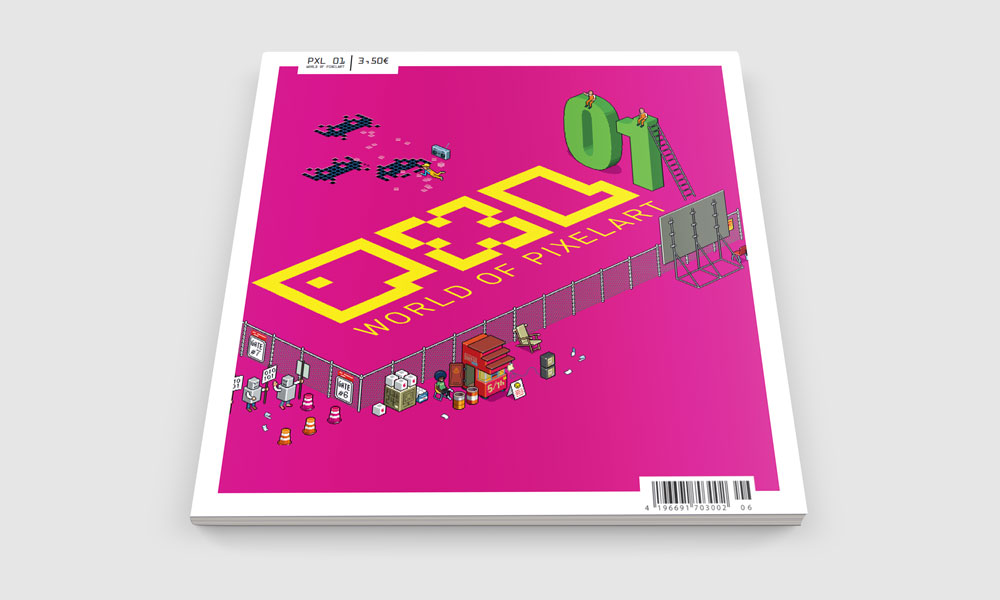 PXL - World of Pixelart, Cover