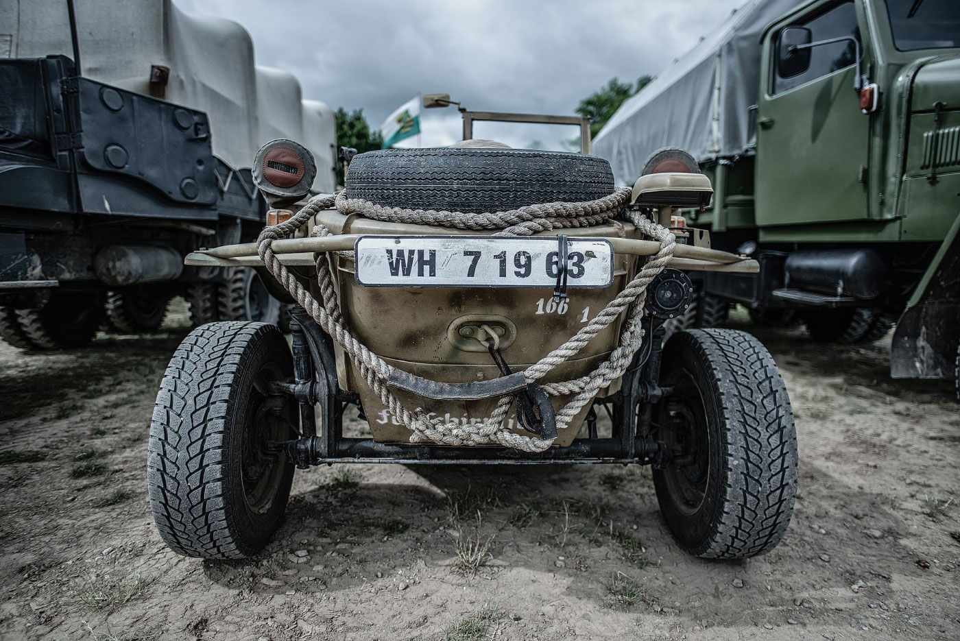 Panzertreffen, VW Typ 166 Schwimmwagen