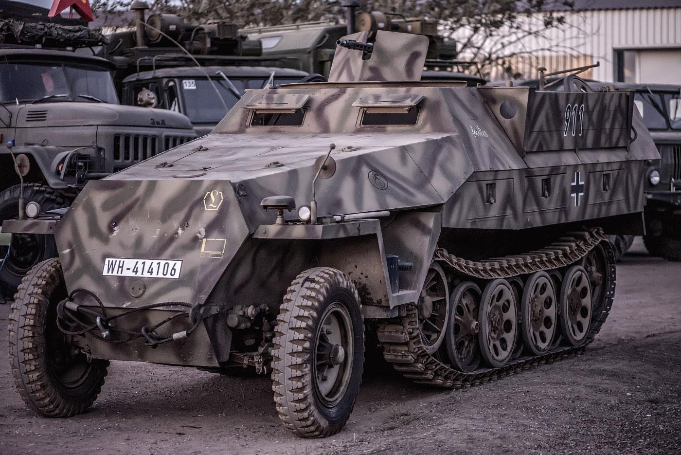 Panzertreffen, Hanomag