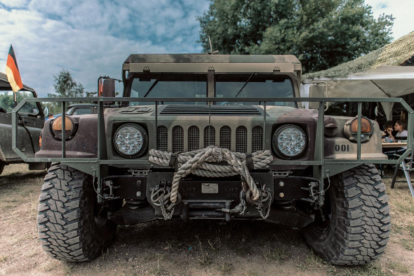 Panzertreffen 2018, HMMWV (Humvee)