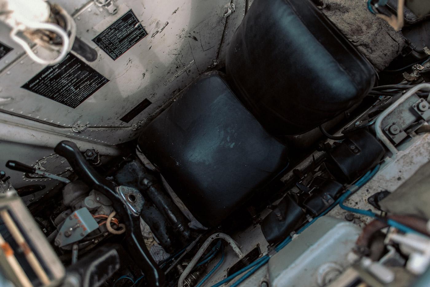 Panzertreffen 2018, BMP-1 Fahrerbereich