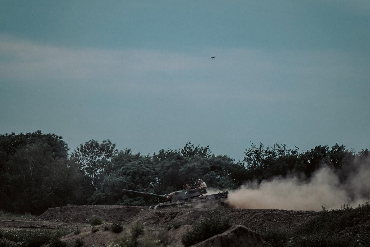 Panzertreffen 2018, Leopard 1 in Fahrt