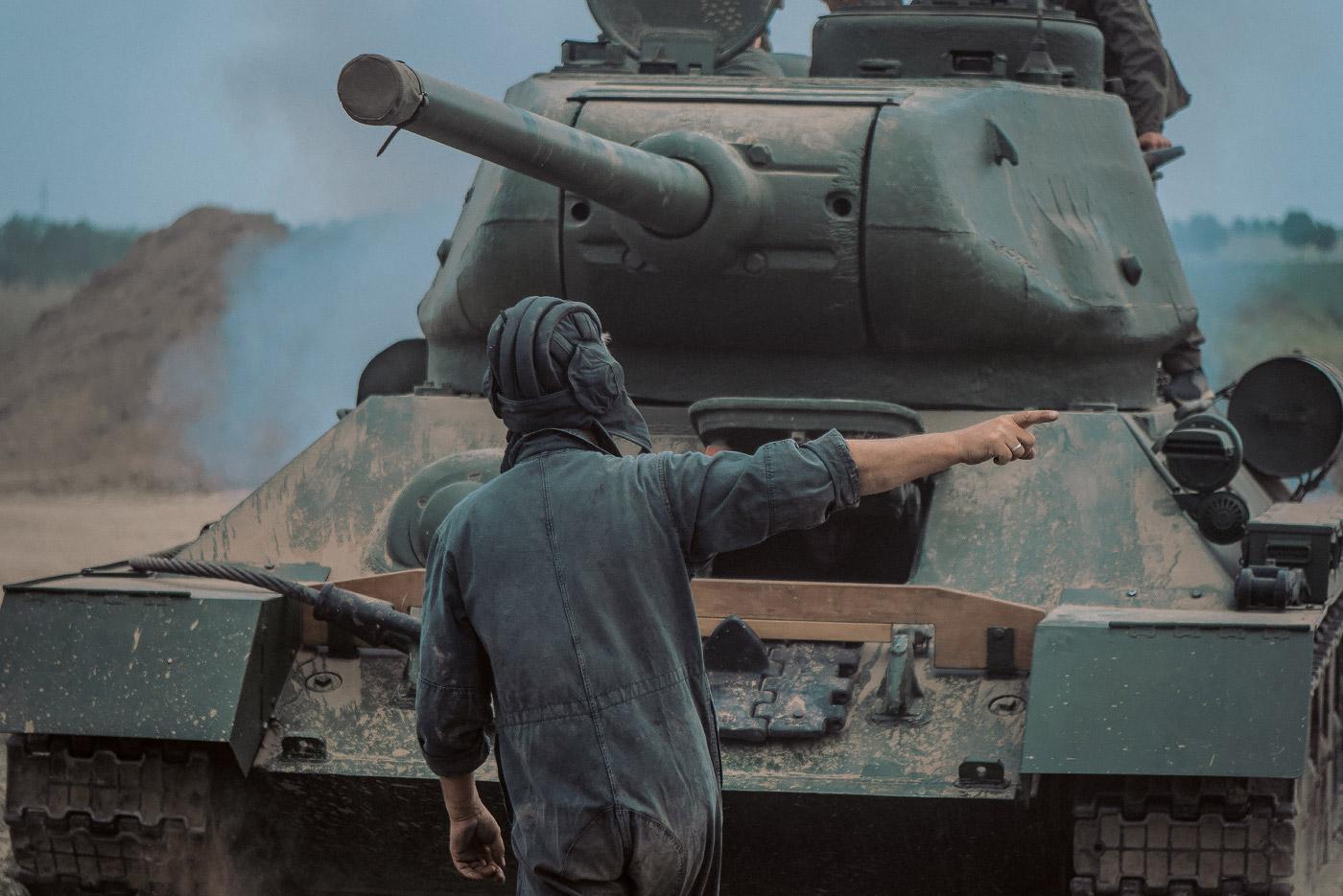 Panzertreffen 2018, T-34/85